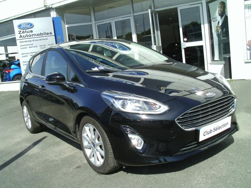 Véhicule occasion - FORD - Fiesta 1.0 EcoBoost 100ch Stop&Start B&O Play First Edition BVA 5p