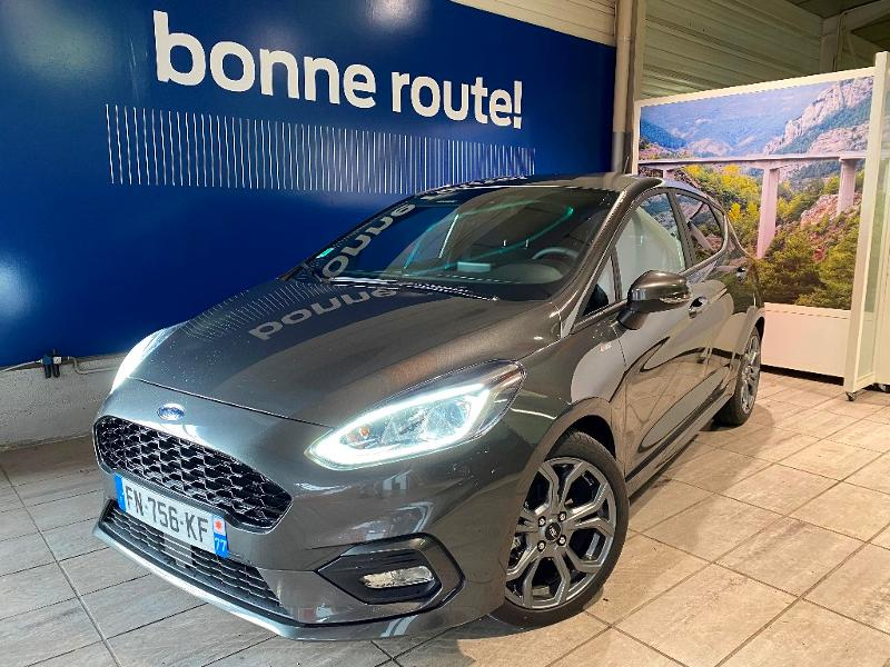 Véhicule occasion - FORD - Ford Fiesta ST-LINE X 1.0 EcoBoost 95ch S&S BVM6 5Portes