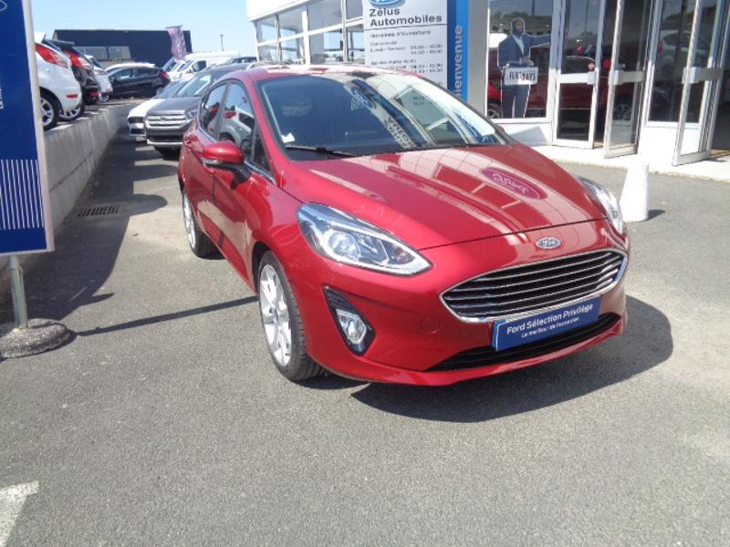 Véhicule occasion - FORD - Fiesta 1.0 EcoBoost 125ch Stop&Start Titanium 5p