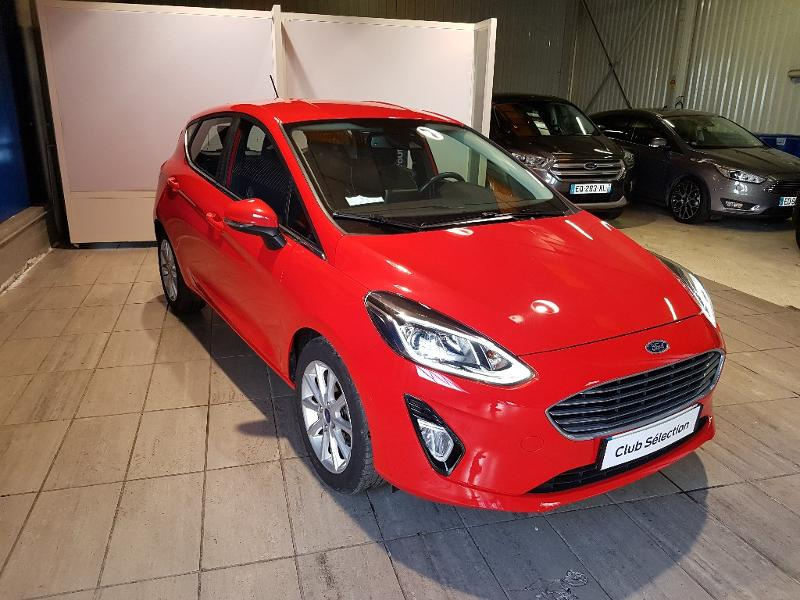 Véhicule occasion - FORD - Fiesta 1.0 EcoBoost 100ch Stop&Start Titanium 5p