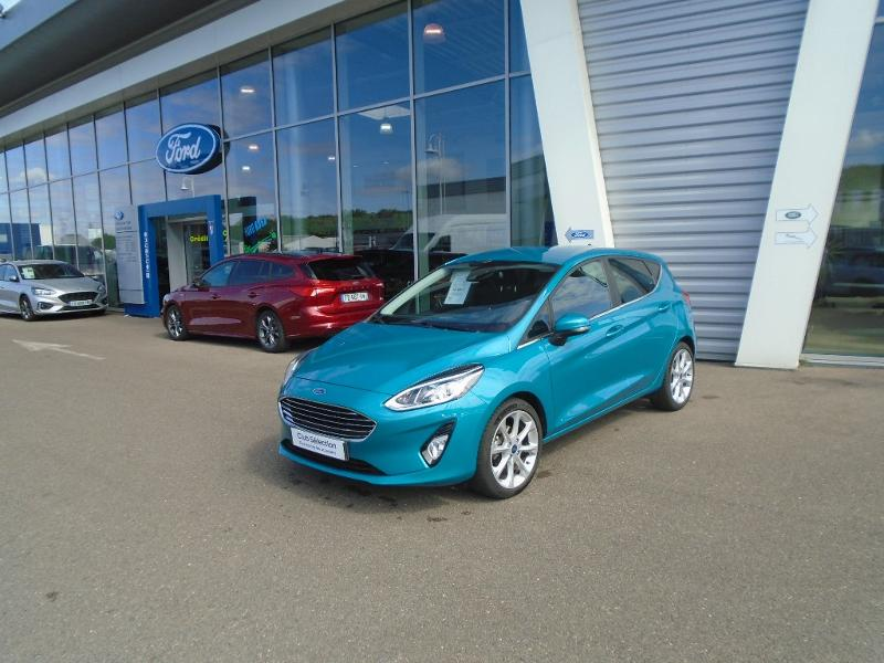 Véhicule occasion - FORD - Fiesta 5P 1.0 EcoBoost 100ch S&S TITANIUM