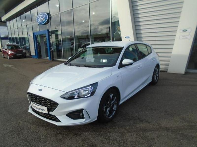 Véhicule occasion - FORD - Nouvelle FOCUS 5P - 1.0 EcoBoost 125 ch S&S BVM6 ST-LINE