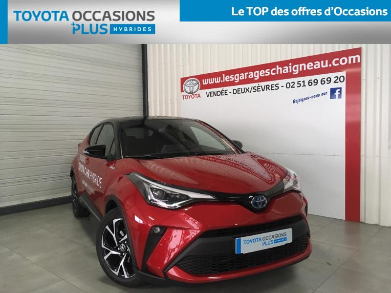 Véhicule occasion - TOYOTA - C-HR Hybride Break 5P MC19 2.0L 184ch Collection Cuir Alcant