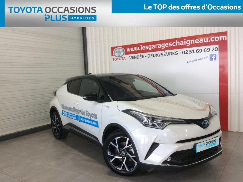 Véhicule occasion - TOYOTA - C-HR Hybride Break 5P Hybride Collection Cuir Alcantara RC19