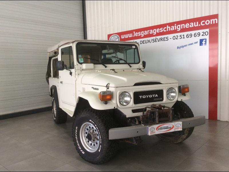 Véhicule occasion - TOYOTA - LAND CRUISER 3P BJ 46